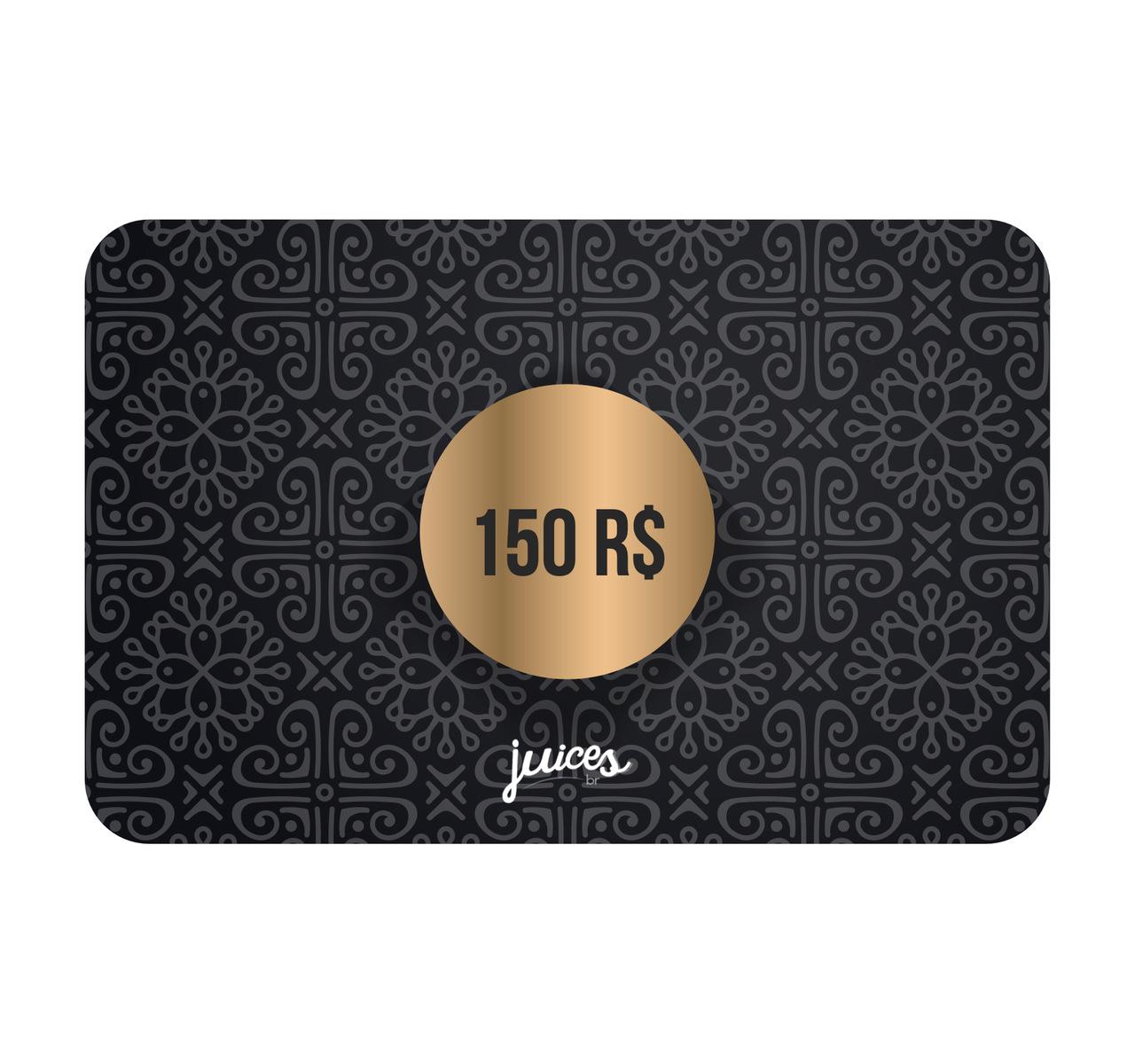 Cartão Presente Online - R$150,00