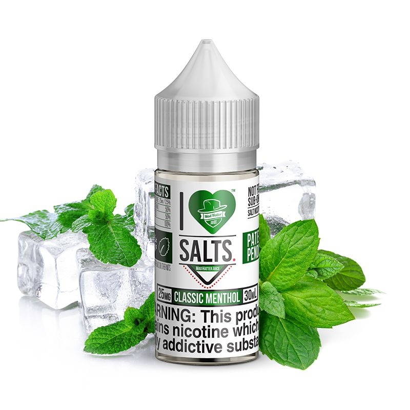 Classic Menthol Salt by Mad Hatter