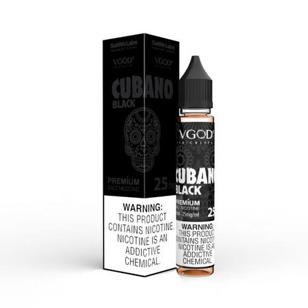 Cubano Black NicSalt by VGOD