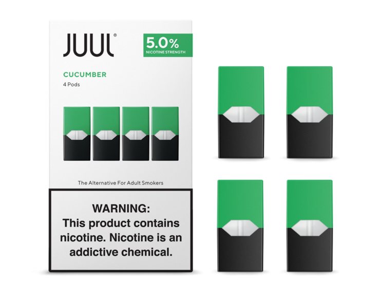 Cucumber by Juul Pods - 4PCS