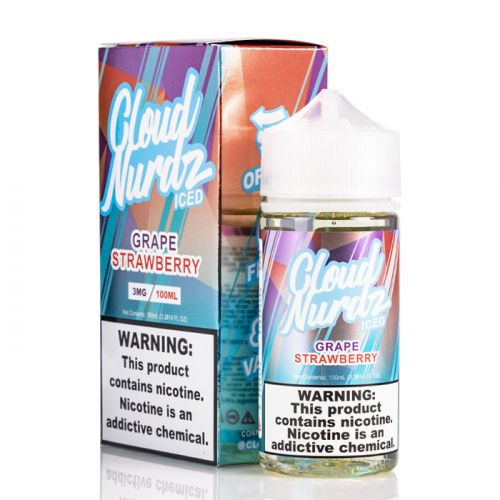 (100ML) Grape Strawberry Ice by Cloud Nurdz