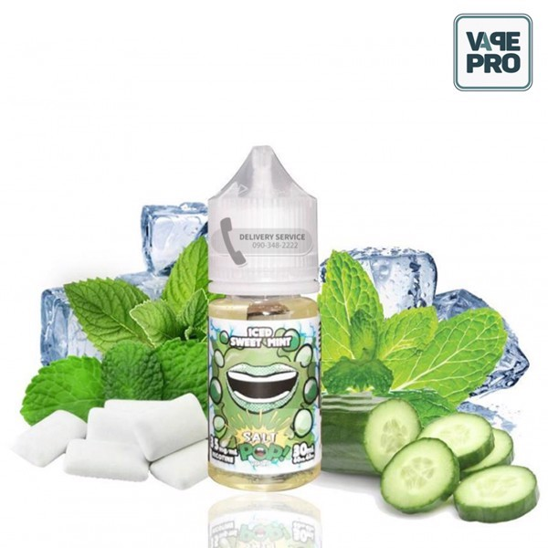 Iced Sweet Mint Salt by Pop Salts!