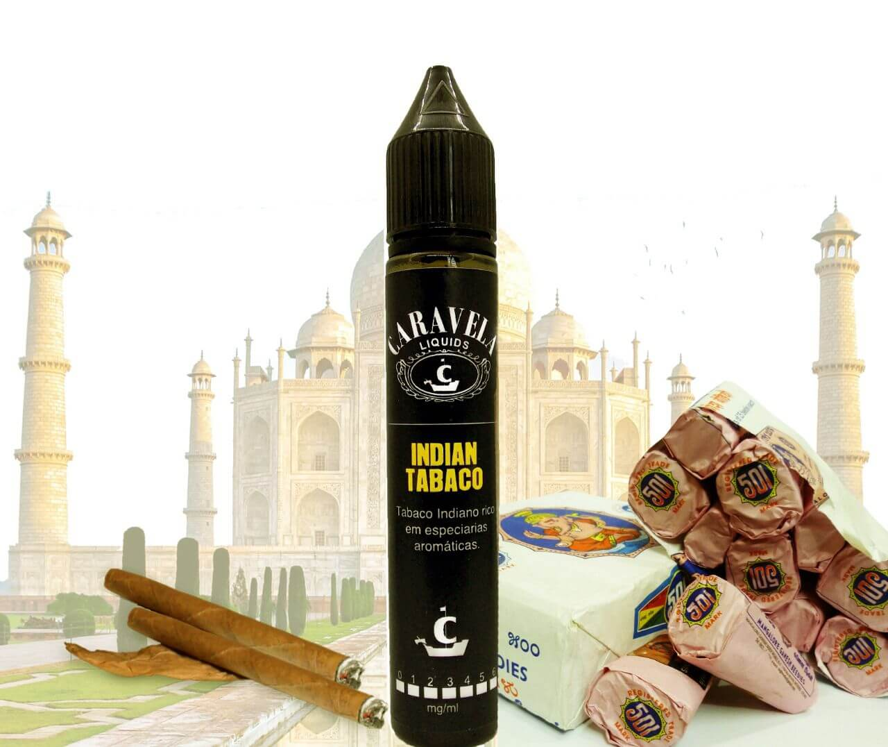 Indian Tabaco by Caravela Liquids
