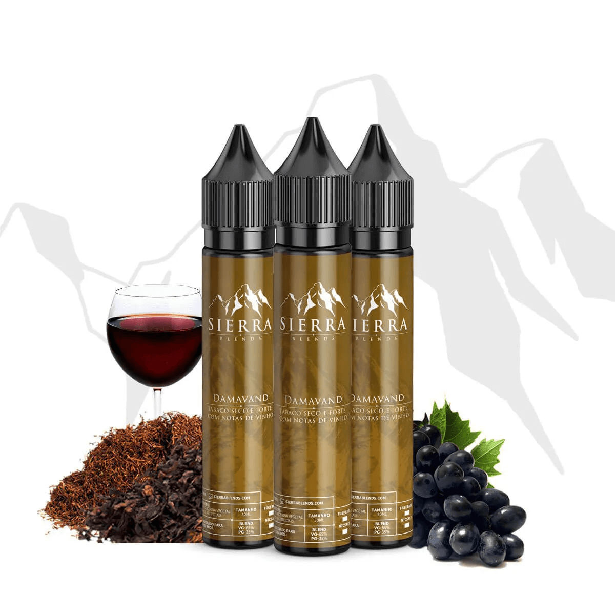 Juice Damavand -  Sierra Blends - Tabaco