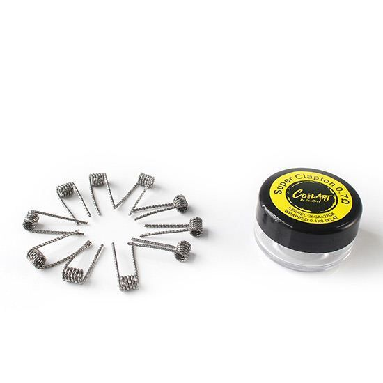 Kit Coil Super Clapton 0.7 By Coilart
