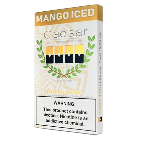 Mango Iced by Caesar PODS Juul - 4PCS
