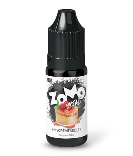 My Creme Brûlée Salt by Zomo Vape