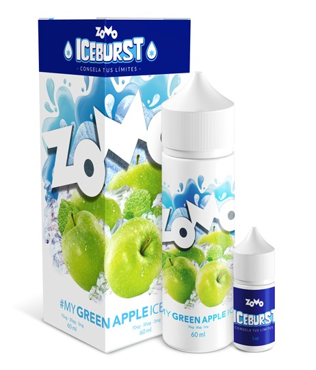 My Green Apple Ice by Zomo Vape