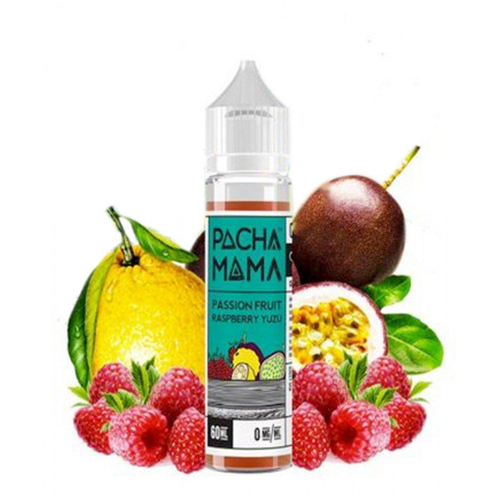 Passion Fruit Raspberry Yuzu by Pachamama