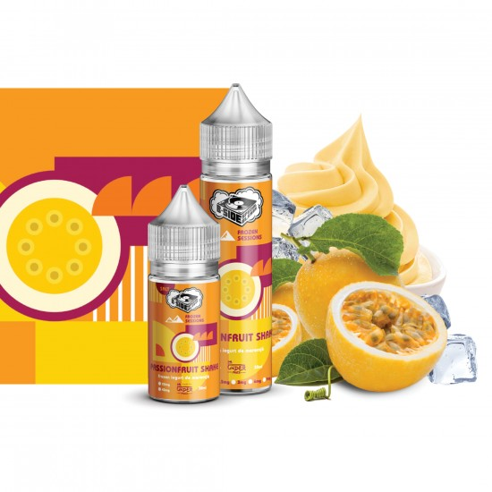 Passionfruit Shake Salt by B-Side Special Blends Fronzen Sessions