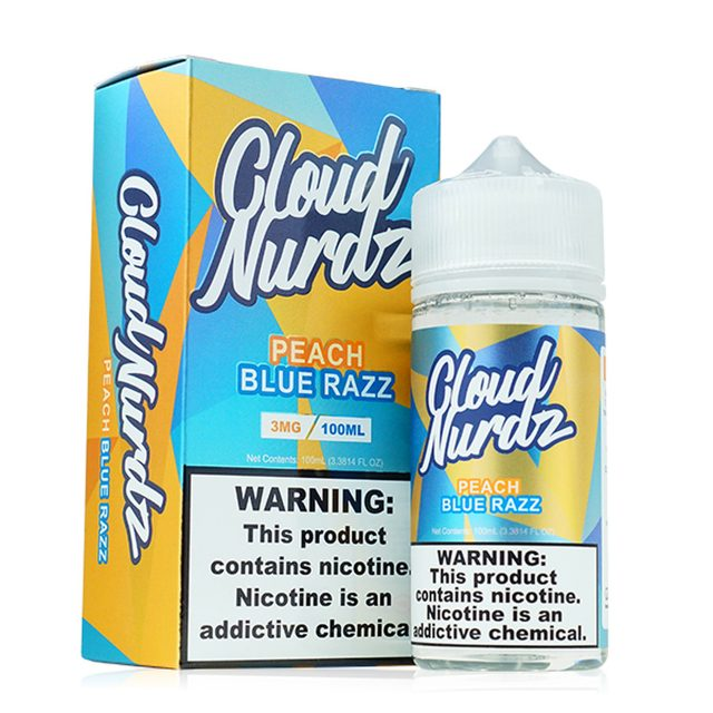 Peach Blue Razz by Cloud Nurdz