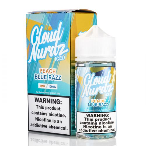 Peach Blue Razz Ice by Cloud Nurdz