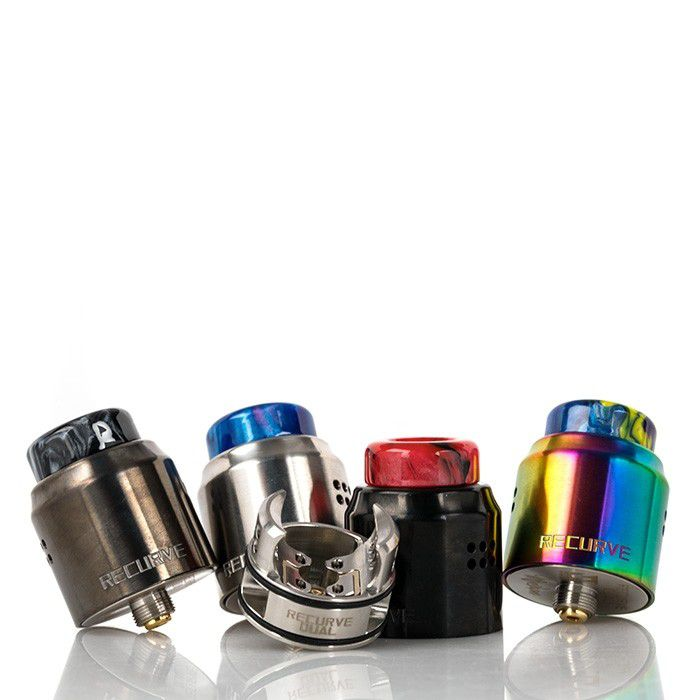 Recurve Dual RDA by Wotofo