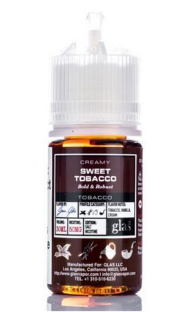 Sweet Tobacco Salt by Glas Salt