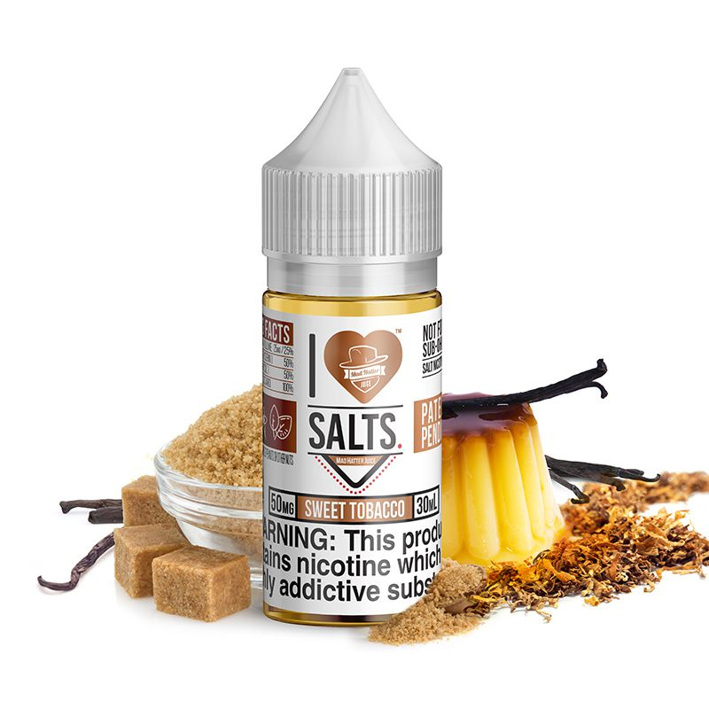 Sweet Tobacco Salt by Mad Hatter
