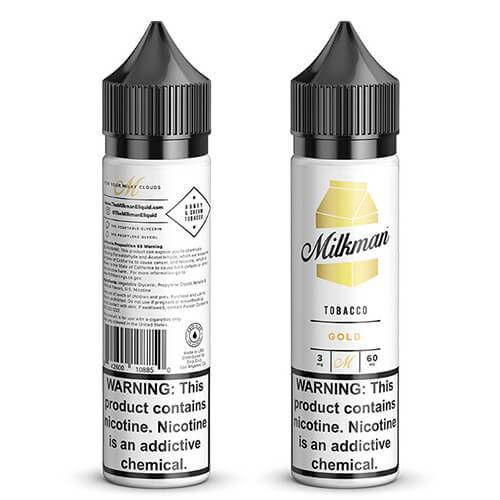 Heritage Gold by The MilkMan Eliquid