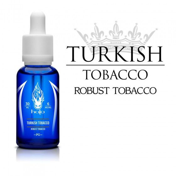 Turkish Tobacco by Halo E-Juice