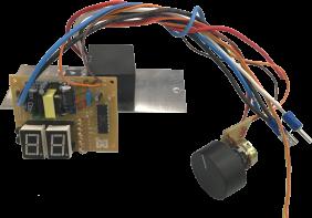 Controlador Digital para Máquina de Algodão Doce - Inovamaq