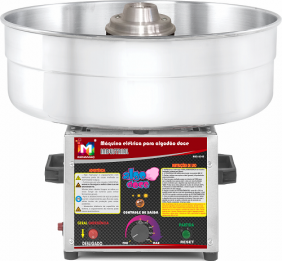 Máquina de Algodão Doce Industrial - AD-50 - Inovamaq
