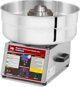 Máquina de Algodão Doce Profissional - AD-43 Alumínio - Inovamaq