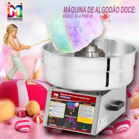 Máquina de Algodão Doce Profissional - AD-43 Premium - Inovamaq
