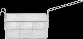 Peneira Cesto Retangular fritador - Inovamaq