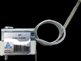 Termostato de segurança rearme manual para fritadeiras elétricas - Inovamaq
