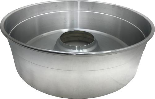 Bacia para Máquina de Algodão Doce Profissional AD-43 - Alumínio