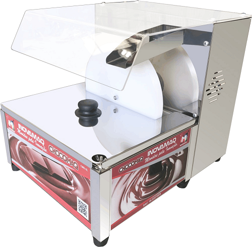 Derretedeira com disco giratório chocomaq - 127v - Inovamaq