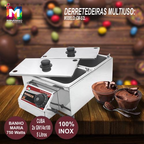 Derretedeira Rechaud Multiuso CM-5L/2 - Inovamaq