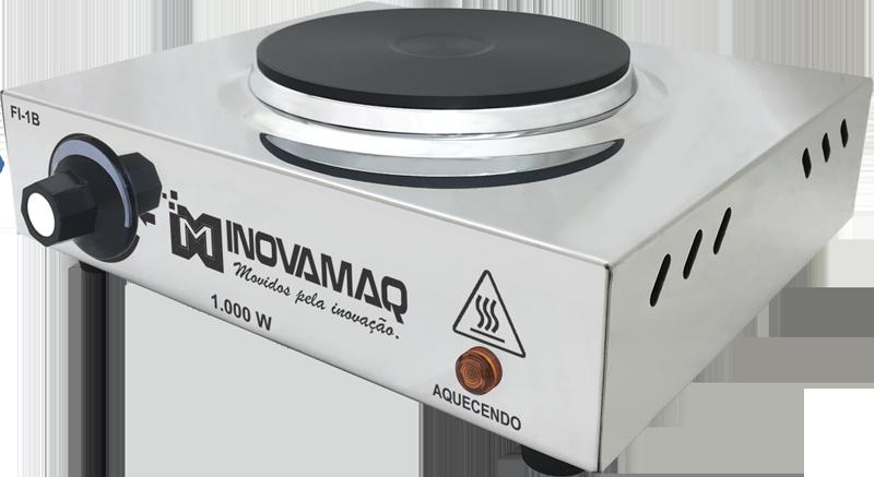 Fogão Elétrico FI-1B 1000w - 220V - Inovamaq