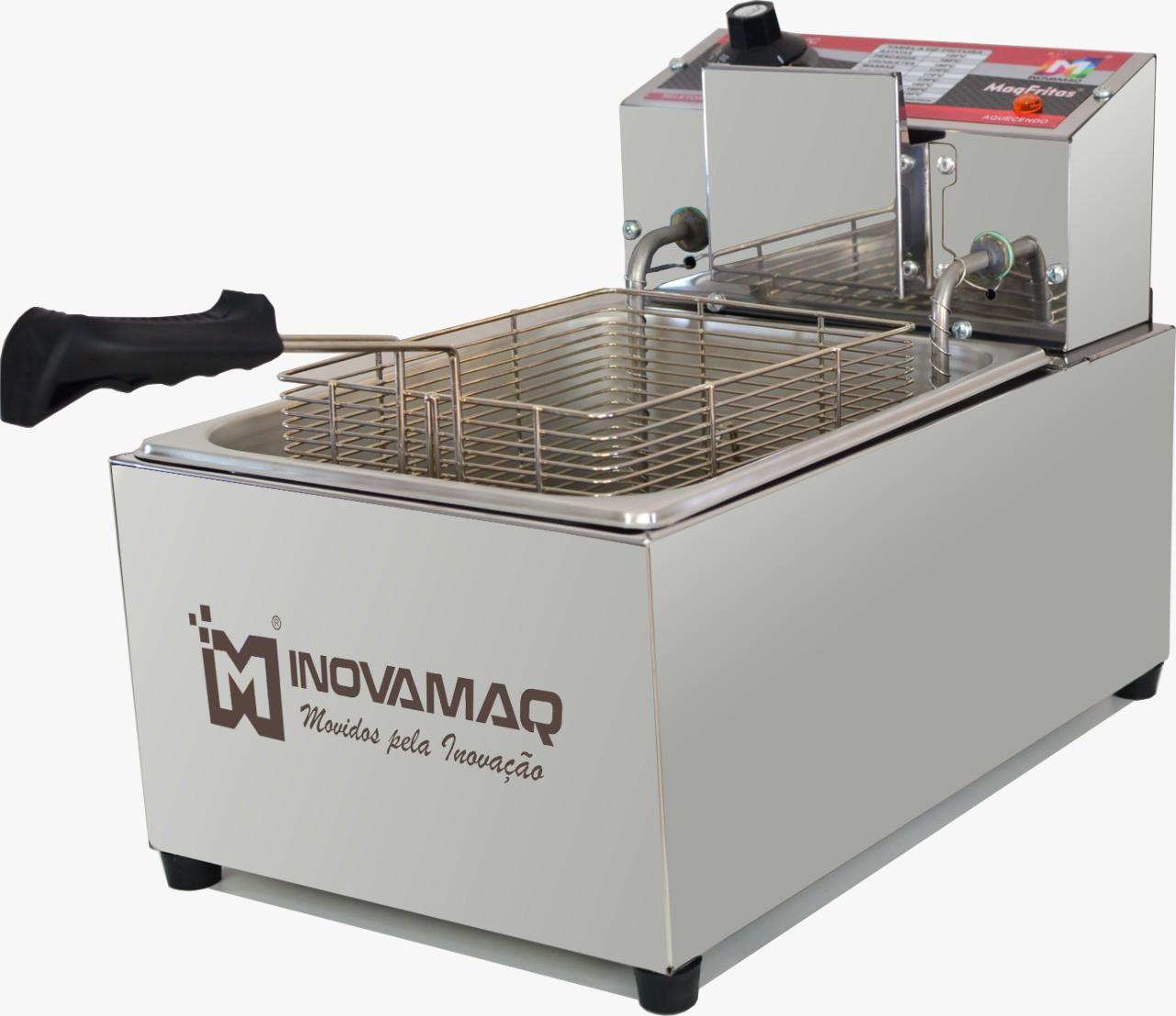 Fritadeira Elétrica Profissional - FM-7,5L - 127V - Inovamaq