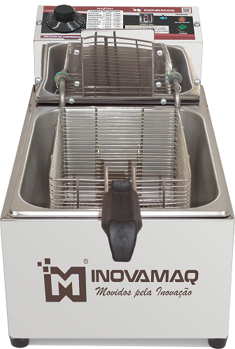 Fritadeira Elétrica Profissional - FM-7,5L - 127V - Premium