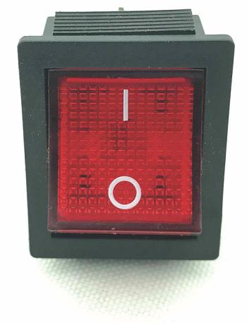 Interruptor Tecla Quadrado para Máquina de Algodão Doce - Inovamaq