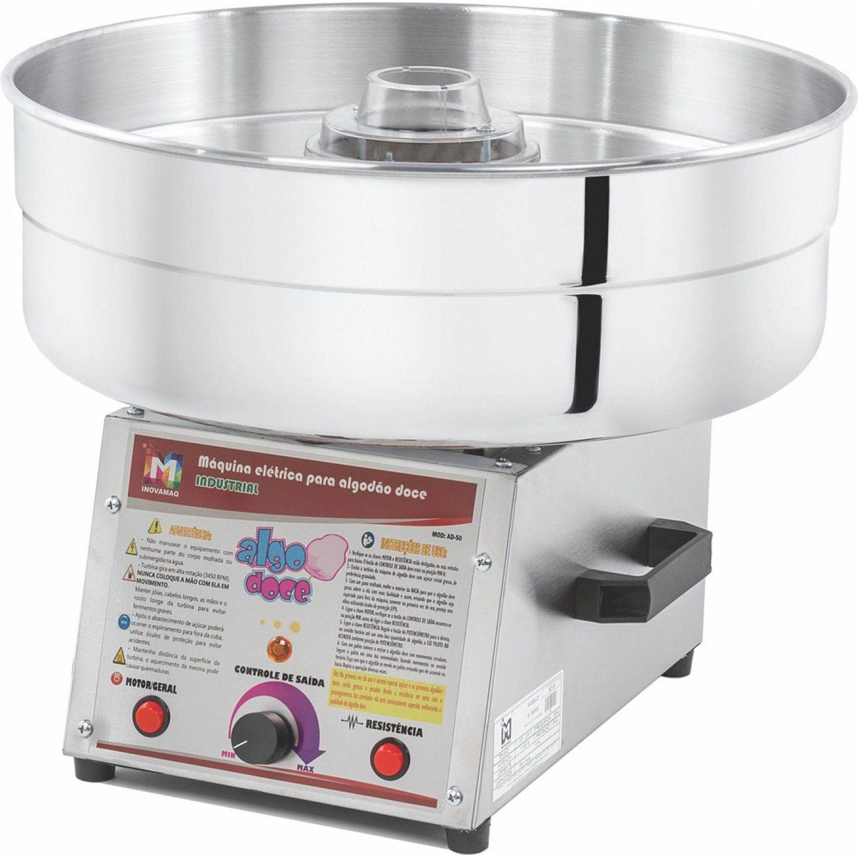 Máquina de Algodão Doce Industrial - AD-50  ((( SEMINOVA ))) Inovamaq