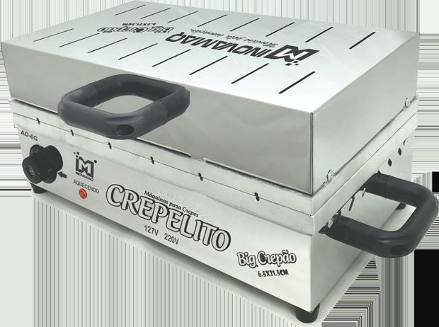 Máquina de Crepe Crepeira Big Crepão no Palito 220v - 6,5 x 21,5 - Inovamaq