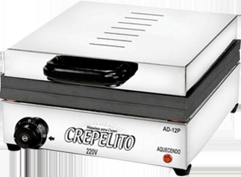 Máquina de Crepe no Palito Crepeira 220v com Teflon - Inovamaq