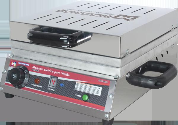 Máquina de Waffles Profissional Digital - GW-4 Premium - Inovamaq