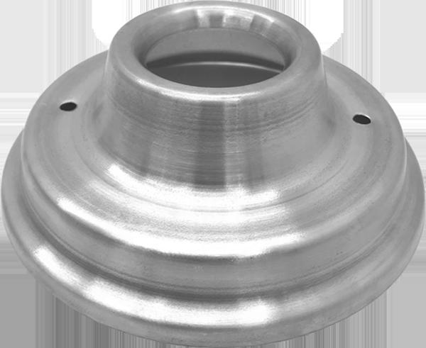 Tampa de Alumínio 130mm para Máquina de Algodão Doce - Inovamaq