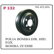 Polia Bomba VW Fox Polo Gol G5 Voyage novo (todos) 2002 em diante