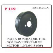 Polia Bomba VW Gol Saveiro Parati até 996 (quadrada)