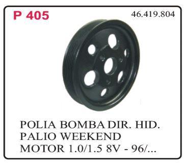 POLIA BOMBA FIAT PALIO/SIENA  1.0 / 1.5 1996 ATÉ 2000  - Direpeças Parts