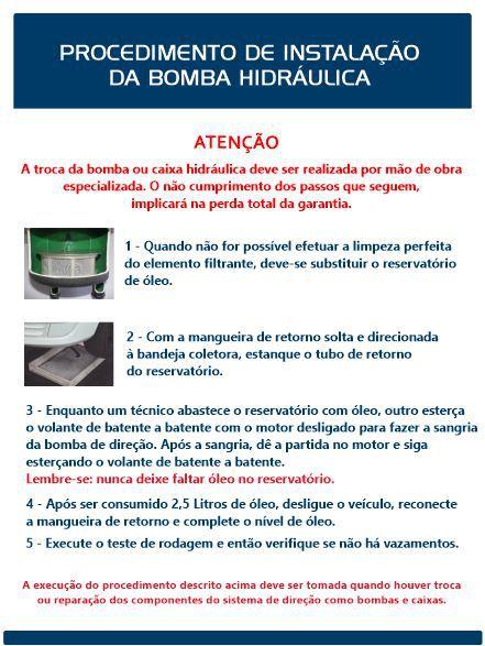 Reservatório Hidráulico Celta Classic Prisma Vectra BOSCH  - Direpeças Parts