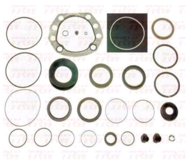 Reparo da Caixa de Direção Hidráulica Scania   - Direpeças Parts