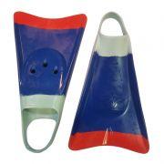 Pé de Pato Kpaloa Original para Bodyboard Azul / Vermelho / Verde
