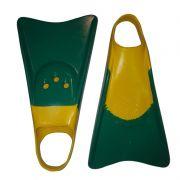 Pé de Pato Kpaloa Original para Bodyboard Verde / Amarelo