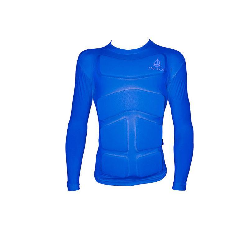 Camisa de Lycra com Flutuador Mar & Cia manga longa