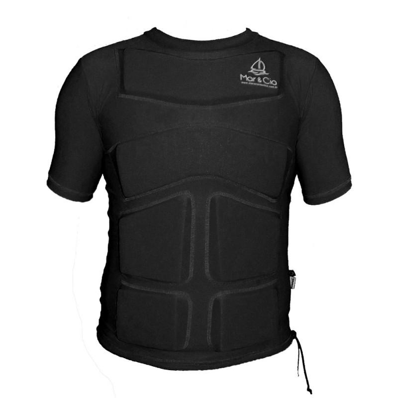Camisa de Lycra com Flutuador Mar&Cia manga curta 35 Kg