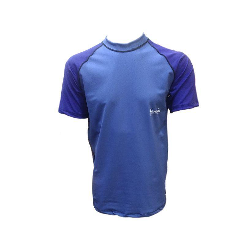 Camisa De Lycra Kanaha M/C Azul