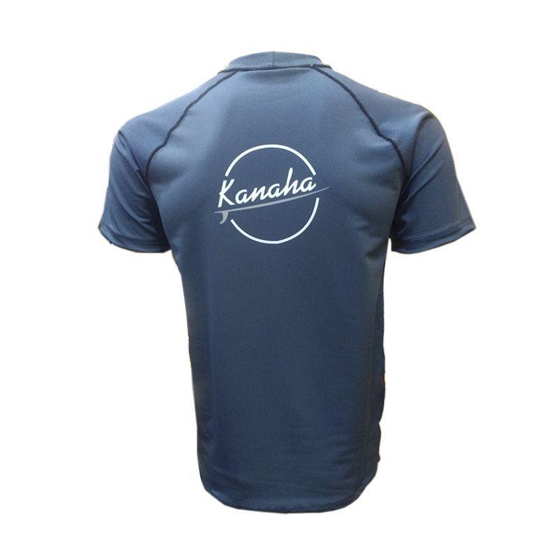 Camisa De Lycra Kanaha M/C Azul Petróleo
